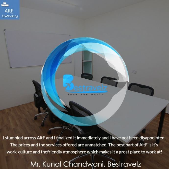 Bestravelz's Experience With AltF Co-Working