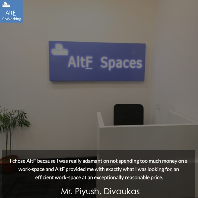 Divaukas' Experience With AltF Co-Working