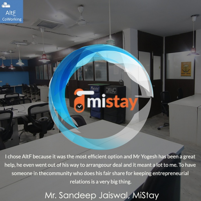 MiStay's Experience With AltF Co-Working