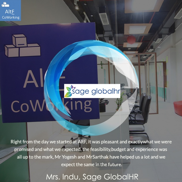Sage GlobalHR's Experience With AltF Co-Working